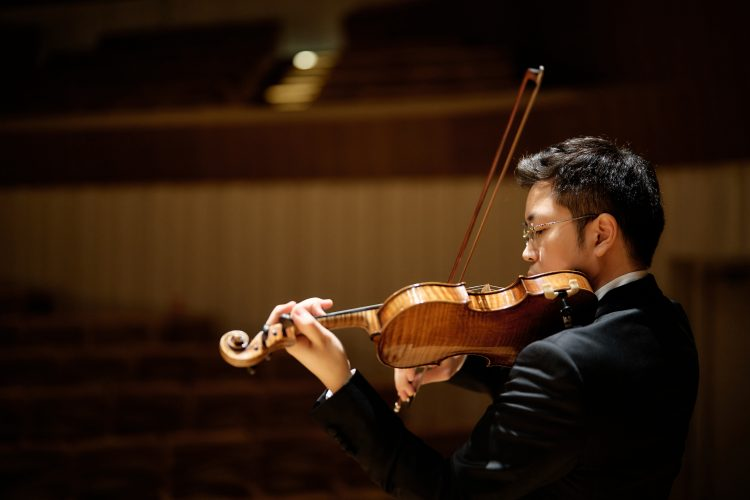 璀璨系列—黃俊文小提琴獨奏會(巴哈靈感音樂文化協會提供/攝影鄭達敬)